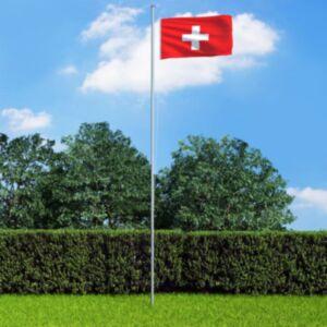 Pood24 Šveitsi lipp 90 x 150 cm
