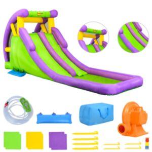 Happy Hop täispuhutav veeliumägi lastebasseiniga 600x215x255 cm PVC