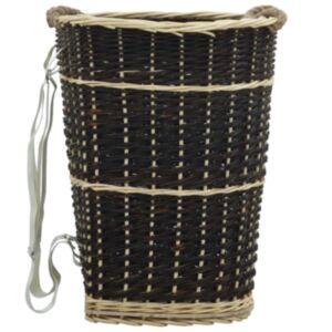 Pood24 küttepuude seljakott kanderihmadega 50x44x58 cm naturaalne paju