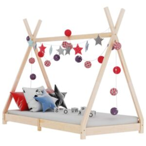 Pood24 lastevoodi raam, männipuit, 90 x 200 cm