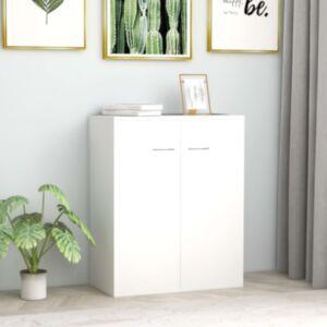 Pood24 puhvetkapp, valge, 60 x 30 x 75, cm puitlaastplaat