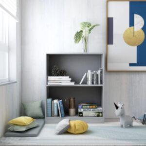 Pood24 raamaturiiul, hall, 60 x 24 x 74,5 cm, puitlaastplaat