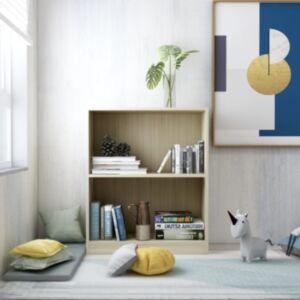 Pood24 raamaturiiul, Sonoma tamm, 60 x 24 x 74,5 cm, puitlaastplaat