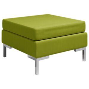 Pood24 sektsiooniline jalatugi padjaga, kangas, roheline
