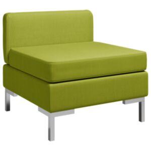 Pood24 sektsiooniline keskmine diivan padjaga, kangas, roheline