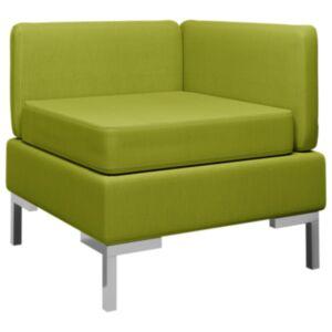 Pood24 sektsiooniline nurgadiivan padjaga, kangas, roheline