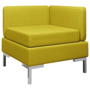 Pood24 sektsiooniline nurgadiivan padjaga, kangas, kollane