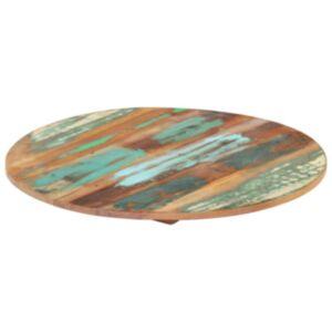 Pood24 ümmargune lauaplaat 40 cm 15–16 mm toekas taaskasutatud puit