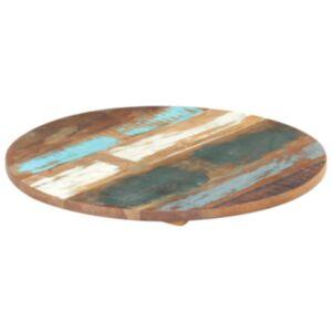 Pood24 ümmargune lauaplaat 40 cm 25–27 mm toekas taaskasutatud puit