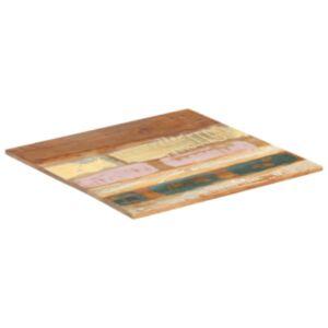 Pood24 ruudukujuline lauaplaat 60 x 60 cm 15–16 mm taaskasutatud puit