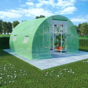 Pood24 kasvuhoone terasest vundamendiga 6 m² 3 x 2 x 2 m