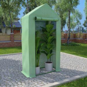 Pood24 kasvuhoone terasest raamiga 0,5 m² 1 x 0,5 x 1,9 m