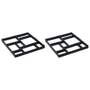 Pood24 sillutiste vormid 2 tk 50,4 x 50,4 x 4,3 cm plast