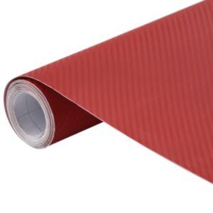 Pood24 autokile, matt, 3D, punane, 200 x 152 cm