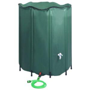 Pood24 kokkupandav vihmaveepaak kraaniga 1000 l