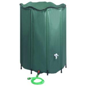 Pood24 kokkupandav vihmaveepaak kraaniga 1500 l
