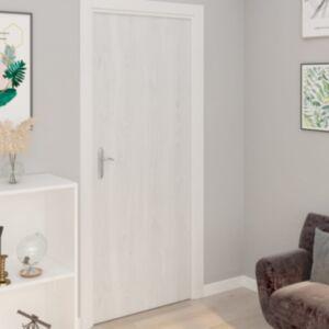 Pood24 iseliimuvad uksekiled, 2 tk, valge puit, 210 x 90 cm, PVC