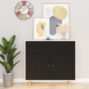 Pood24 iseliimuv mööblikile, tume puit, 500 x 90 cm, PVC