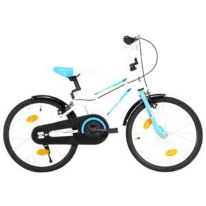 Pood24 laste jalgratas 18', sinine ja valge