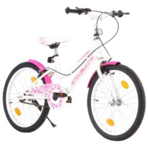 Pood24 laste jalgratas 20'', roosa ja valge