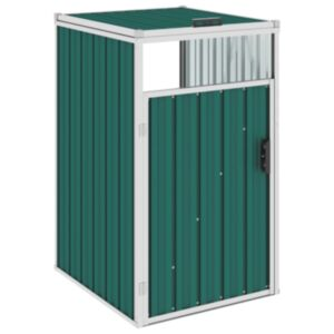 Pood24 prügikastikuur, roheline, 72 x 81 x 121 cm teras