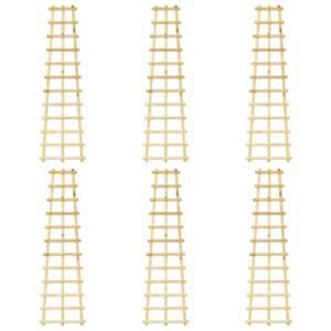 Pood24 aiavõred, 6 tk, 50 x 170 cm, immutatud männipuit