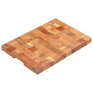 Pood24 lõikelaud, 50 x 34 x 3,8 cm, akaatsiapuu