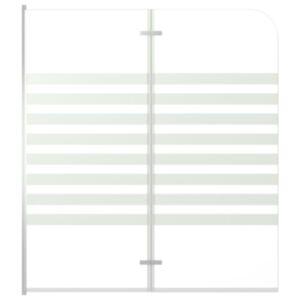 Pood24 vanniümbris, 120 x 140 cm karastatud klaasist, triibuline