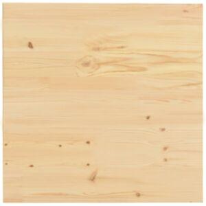 Pood24 lauaplaat toekast männipuidust kandiline 50 x 50 x 2,5 cm