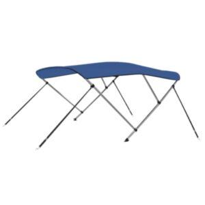 Pood24 3 kaarega kaatri varikatus, sinine 183 x 140 x 140 cm