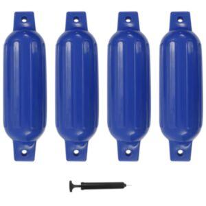 Pood24 paadivender 4 tk sinine 41 x 11,5 cm PVC