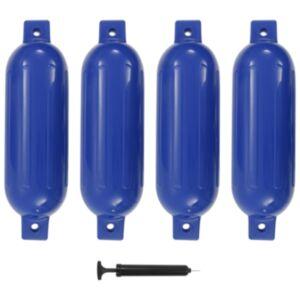 Pood24 paadivender 4 tk sinine 51 x 14 cm PVC