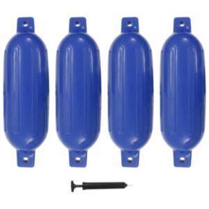 Pood24 paadivender 4 tk sinine 58,5 x 16,5 cm PVC