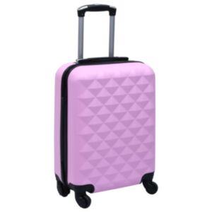 Pood24 kõvakattega kohver roosa ABS