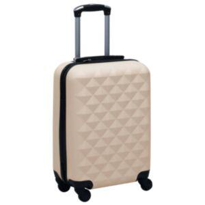 Pood24 kõvakattega kohver kuldne ABS