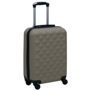 Pood24 kõvakattega kohver, antratsiithall ABS