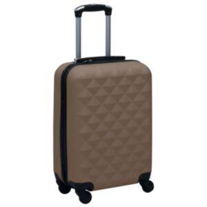 Pood24 kõvakattega kohver pruun ABS