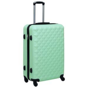 Pood24 kõvakattega kohver, mündiroheline, ABS