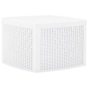 Pood24 lisalaud, valge, 54 x 54 x 36,5 cm, plast