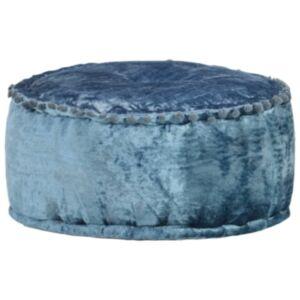Pood24 ümmargune tumba, samet, 40 x 20 cm, sinine