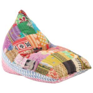 Pood24 kott-tool, värviline kangas, lapitehnika