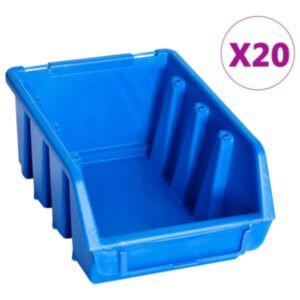 Pood24 virnastatavad hoiukarbid 20 tk, sinine, plast