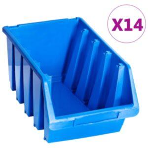 Pood24 virnastatavad hoiukarbid 14 tk, sinine, plast