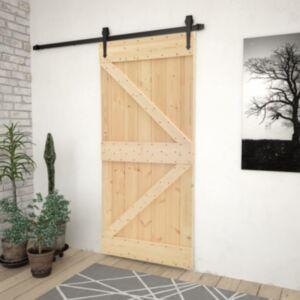 Pood24 uks 100 x 210 cm, männipuit