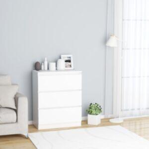 Pood24 puhvetkapp valge 60 x 35 x 76 cm, puitlaastplaat