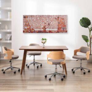 Pood24 seinamaalikomplekt lõuendil, puu, kollane, 150 x 60 cm