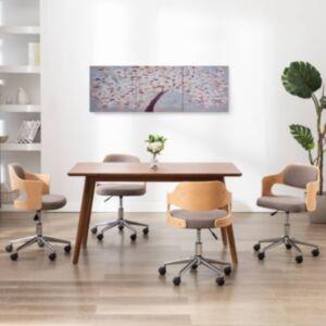 Pood24 seinamaalikomplekt lõuendil, õitsev puu, värviline 120 x 40 cm