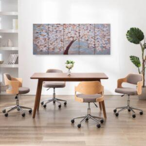Pood24 seinamaalikomplekt lõuendil, õied, värviline, 200 x 80 cm