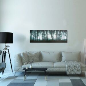Pood24 seinamaalikomplekt lõuendil, puud, värviline 120 x 40 cm