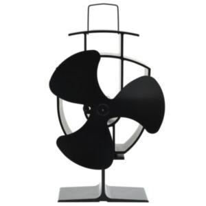 Pood24 soojusenergial põhinev ahjuventilaator 3 labaga, must